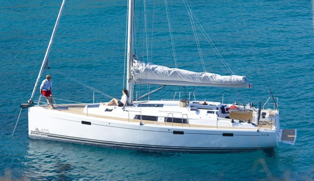Boat rental Hanse Hanse 415 in Croatia on Samboat