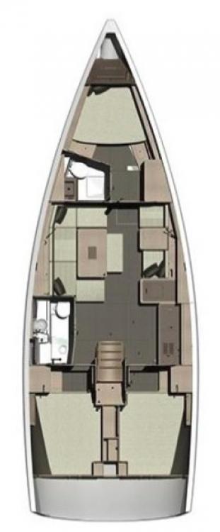Boat rental Marina Šangulin cheap Dufour 412 GL
