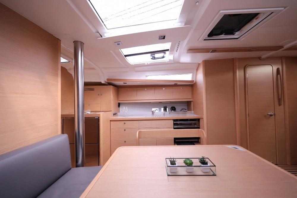 Boat rental Trogir cheap Dufour 43