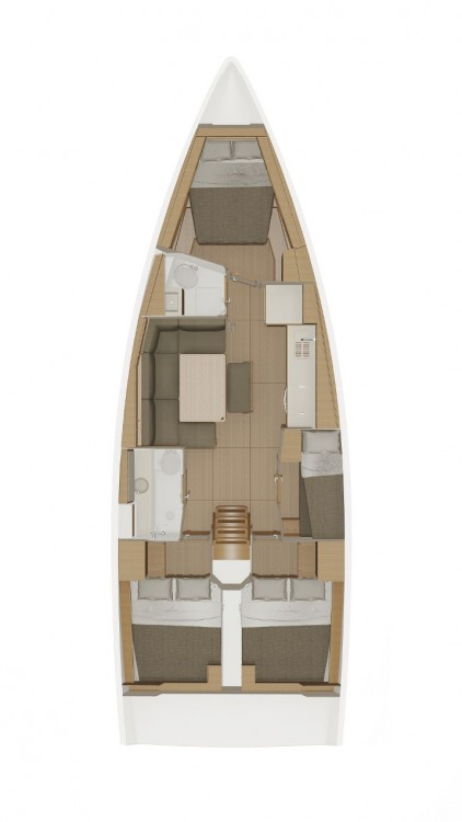Rental Sailboat in Marina Šangulin - Dufour Dufour 430 GL