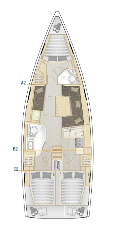 Rental yacht Croatia - Hanse Hanse 418 - 3 cab. on SamBoat