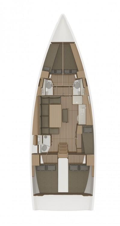 Boat rental Dufour Dufour 460 GL - 5 cab. in Trogir on Samboat