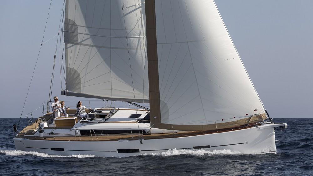 Dufour Dufour 460 Grand Large between personal and professional Marina Šangulin