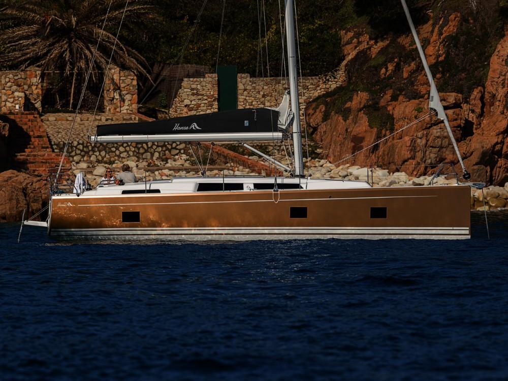 Rental Sailboat in  - Hanse Hanse 418