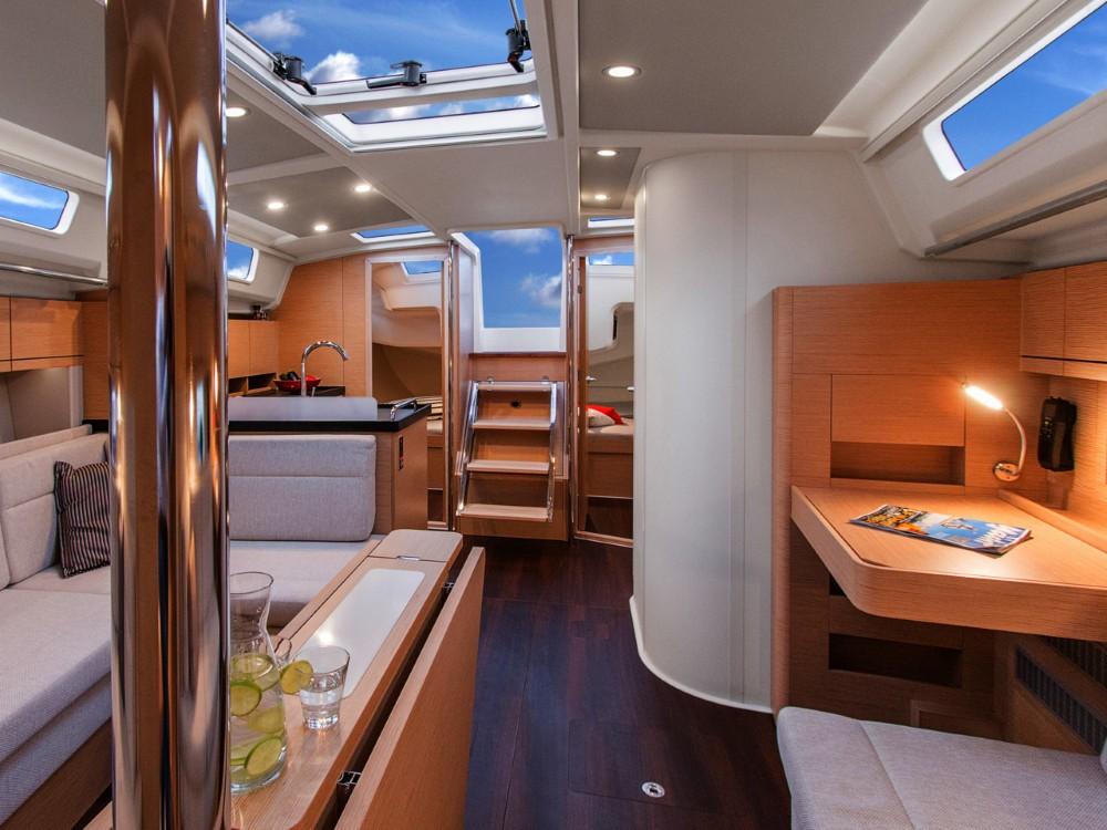 Boat rental  cheap Hanse 418