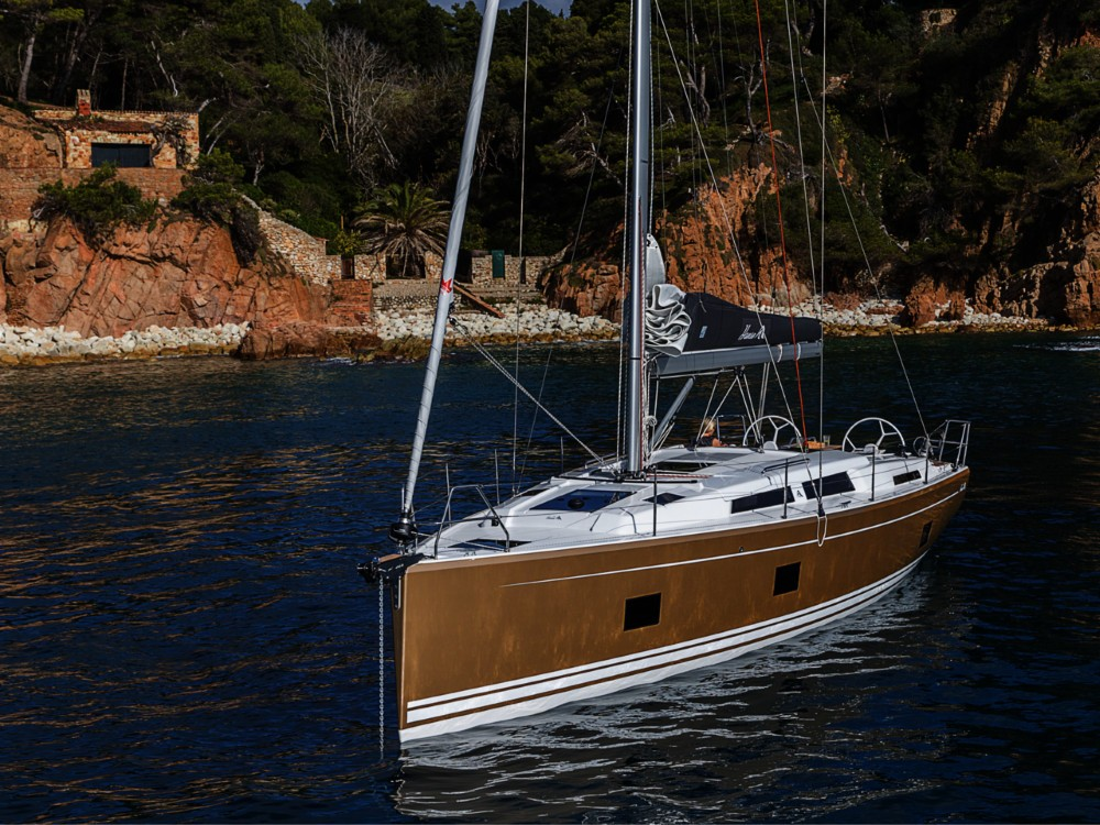 Boat rental  cheap Hanse 418