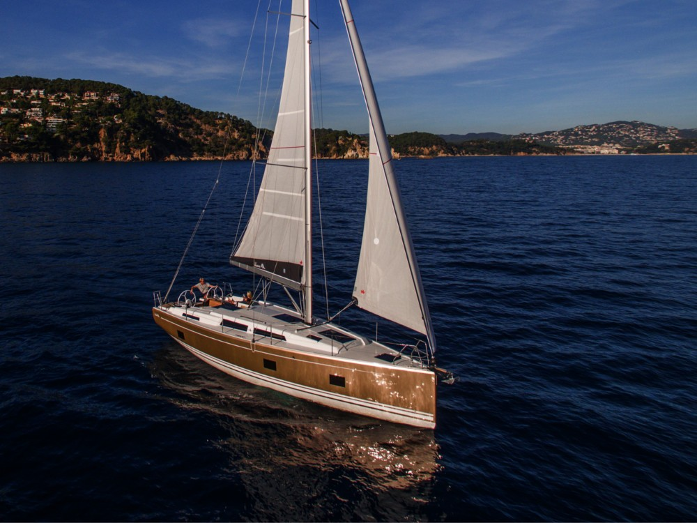 Rental Sailboat in  - Hanse Hanse 418