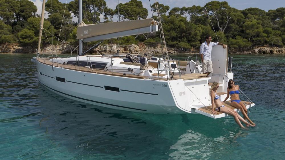 Boat rental Croatia cheap Dufour 460 GL