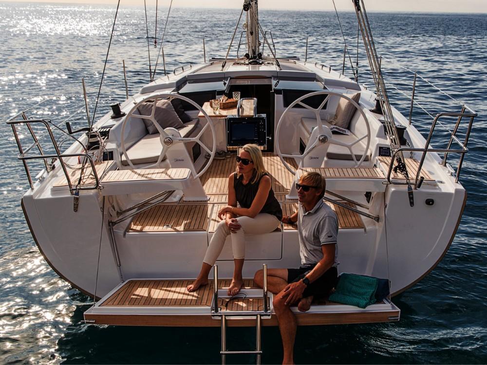 Boat rental  cheap Hanse 418 - 3 cab.