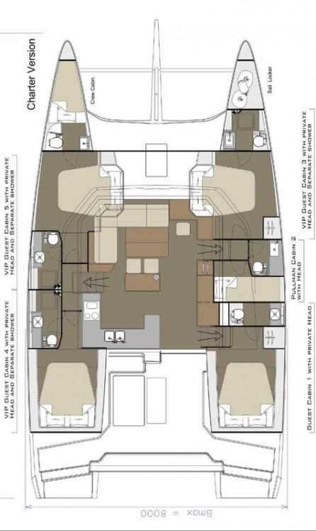 Rental yacht Rogoznica - Dufour Dufour 48 on SamBoat