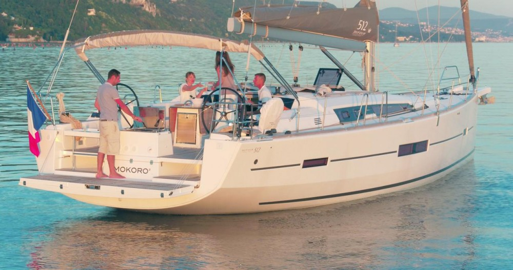 Dufour Dufour 512 Grand Large between personal and professional Trogir