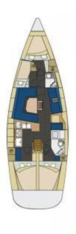 Rental yacht Croatia - Elan Elan 444 Impression on SamBoat