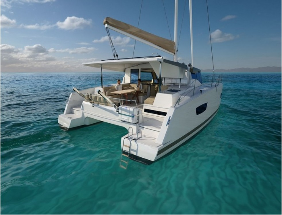 Rent a Fountaine Pajot Lucia 40