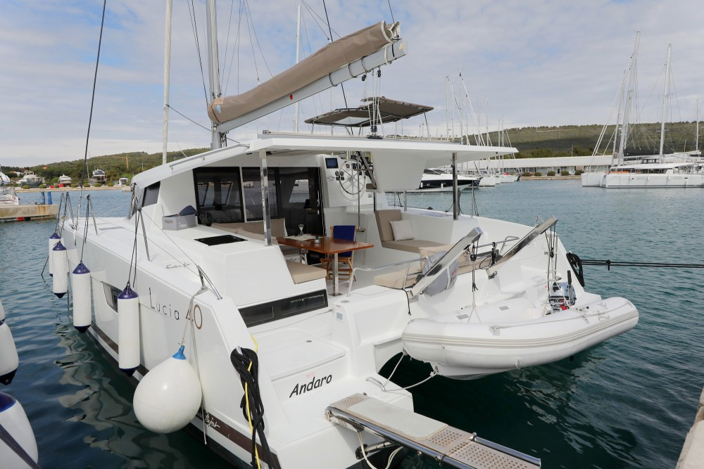 Fountaine Pajot Lucia 40 between personal and professional Općina Sukošan