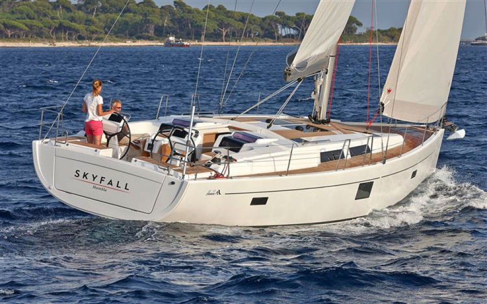 Rental Sailboat in Croatia - Hanse Hanse 455
