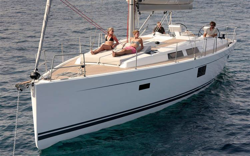 Boat rental Hanse Hanse 455 in Croatia on Samboat