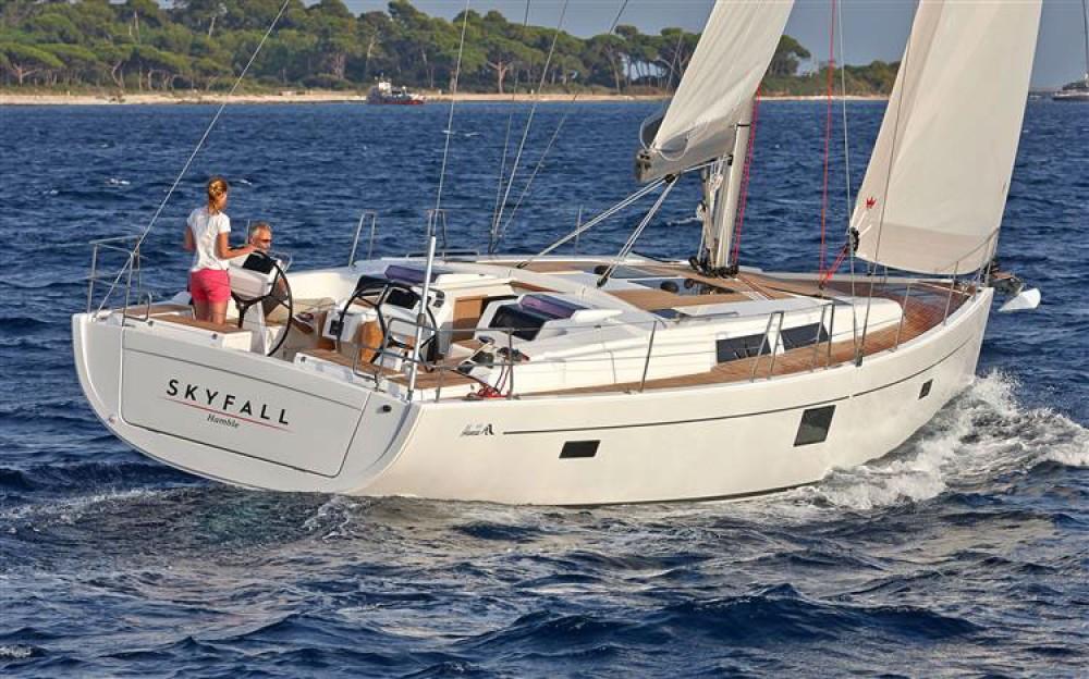 Rental yacht Croatia - Hanse Hanse 455 on SamBoat