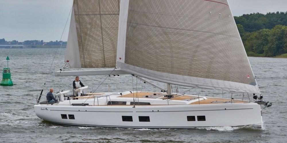 Rental Sailboat in  - Hanse Hanse 548