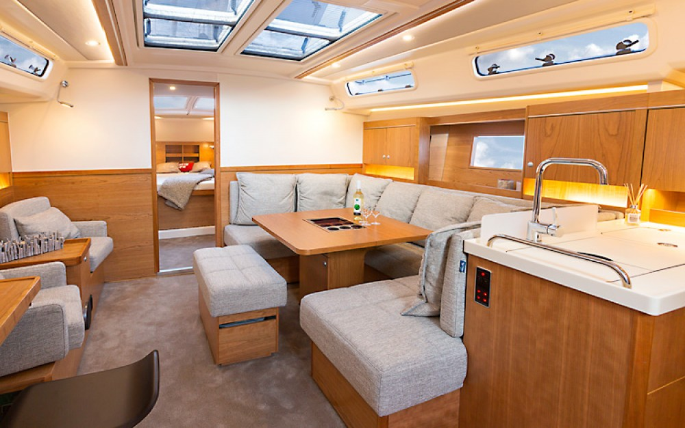 Hire Sailboat with or without skipper Hanse Croatia
