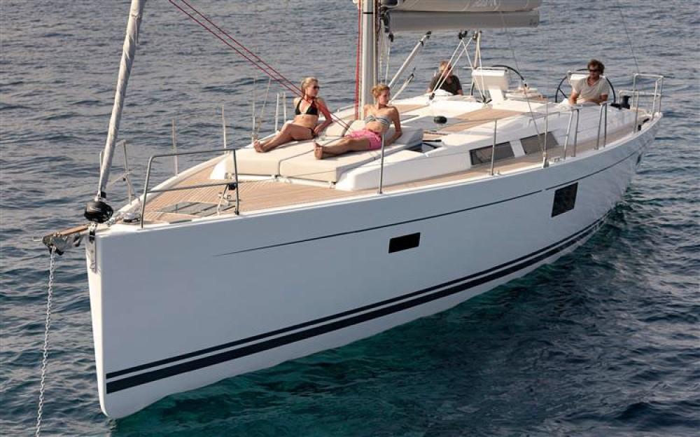Rental Sailboat in Croacia - Hanse Hanse 455