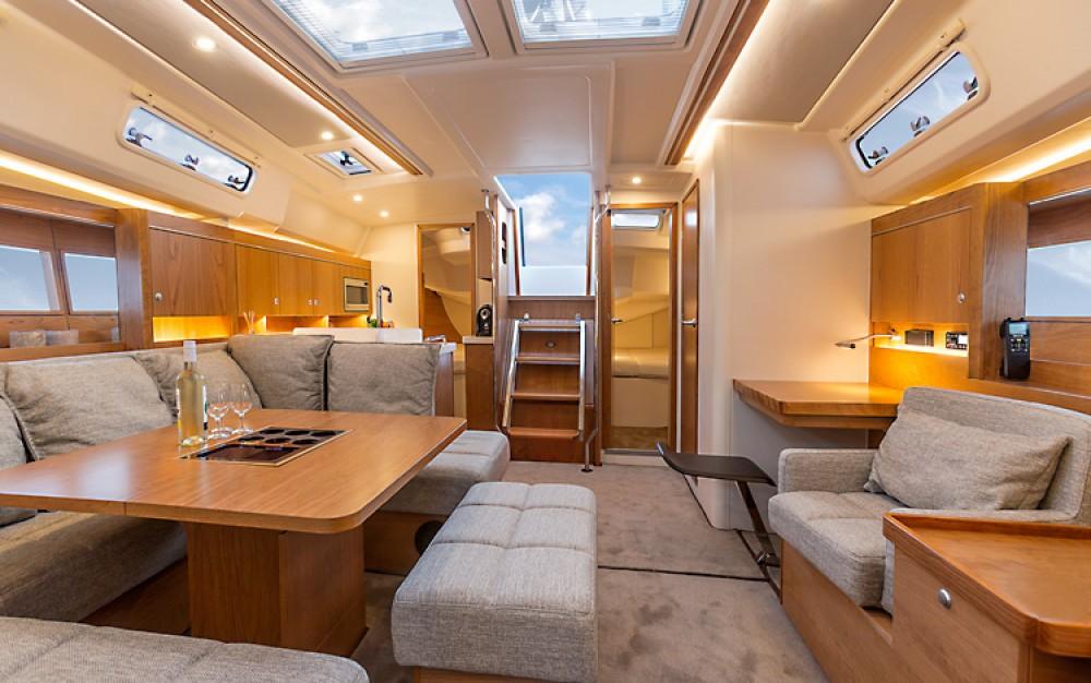 Boat rental Croacia cheap Hanse 455