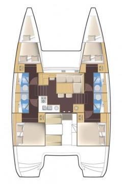 Hire Catamaran with or without skipper Lagoon Biograd na Moru