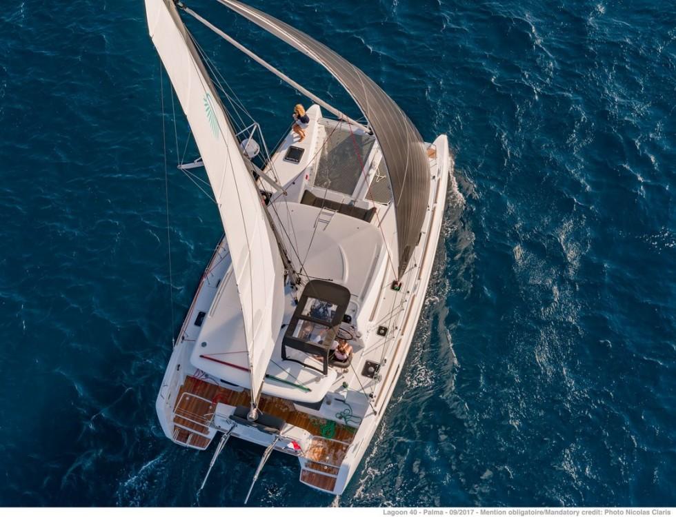 Boat rental Croatia cheap Lagoon 40 - 4 + 2 cab
