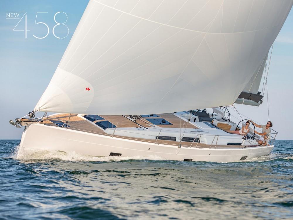 Boat rental Peloponnese cheap Hanse 458