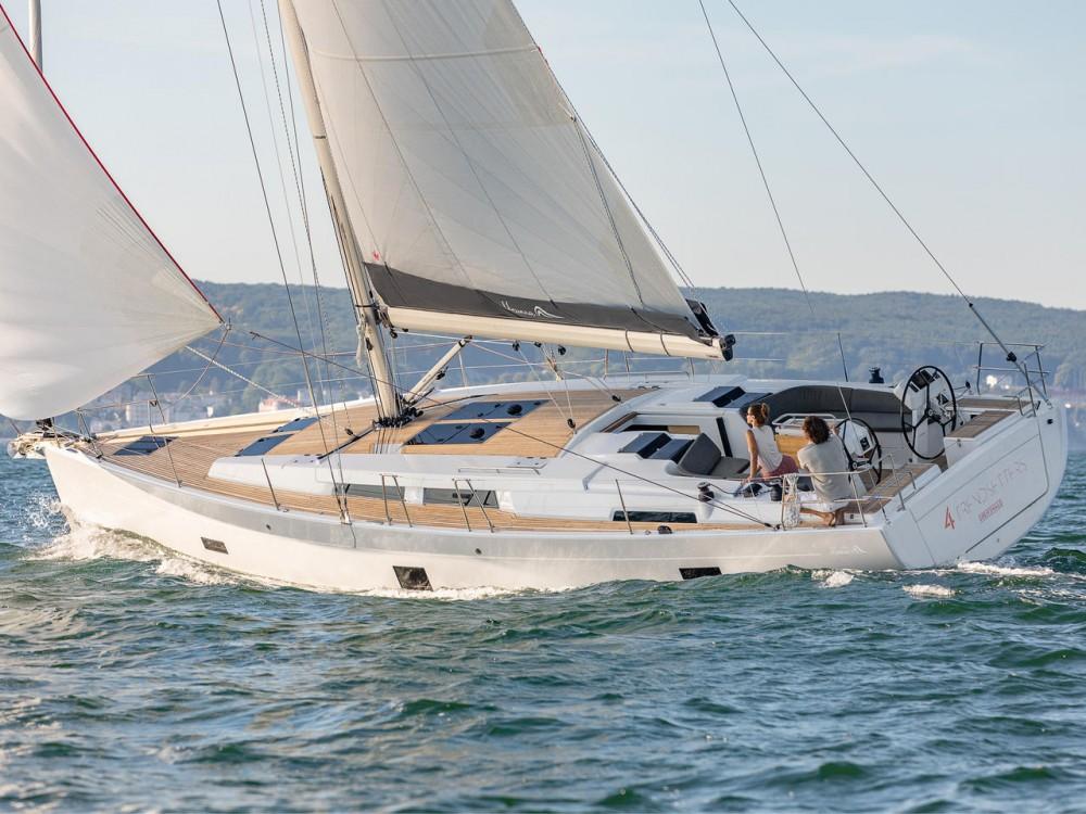 Rental yacht Lávrio - Hanse Hanse 458 on SamBoat