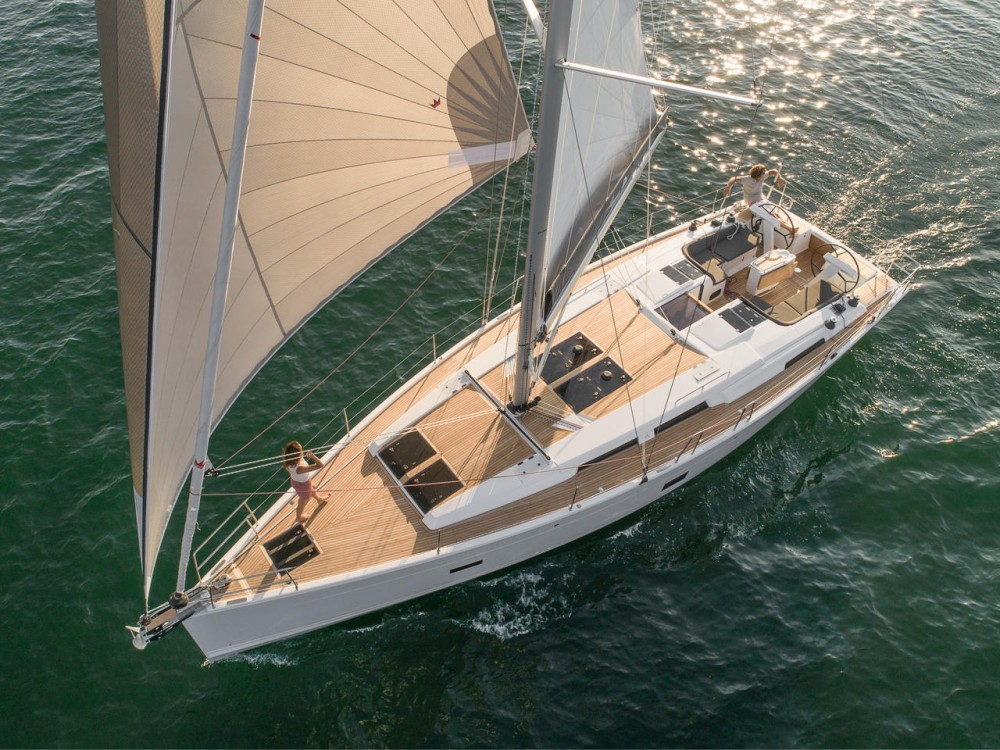 Rental Sailboat in Croatia - Hanse Hanse 458