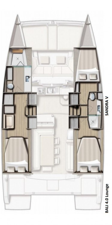 Catamaran for rent Rogosnizza at the best price