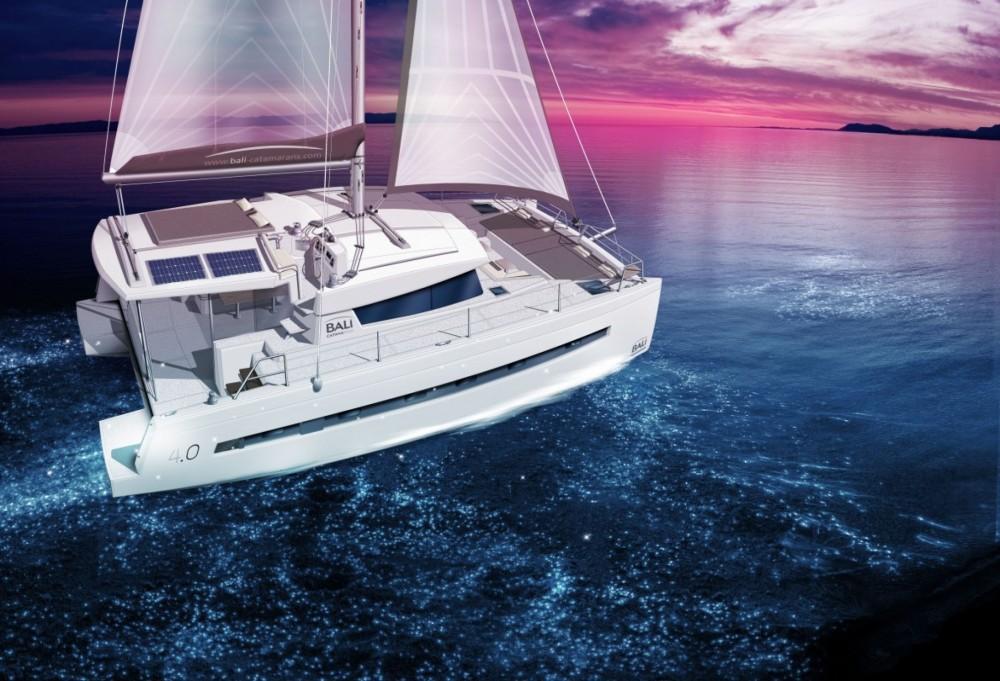 Boat rental Catana Bali 4.0 - 4 cab. in Croatia on Samboat