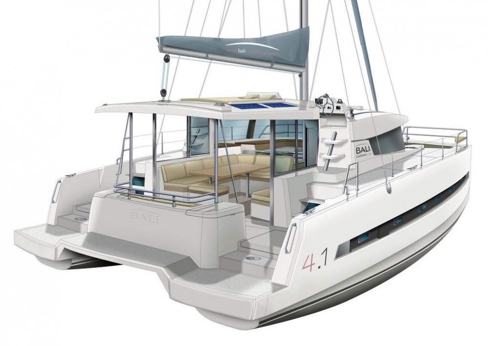 Rental yacht Šibenik - Catana Bali 4.1 - 4 cab. on SamBoat