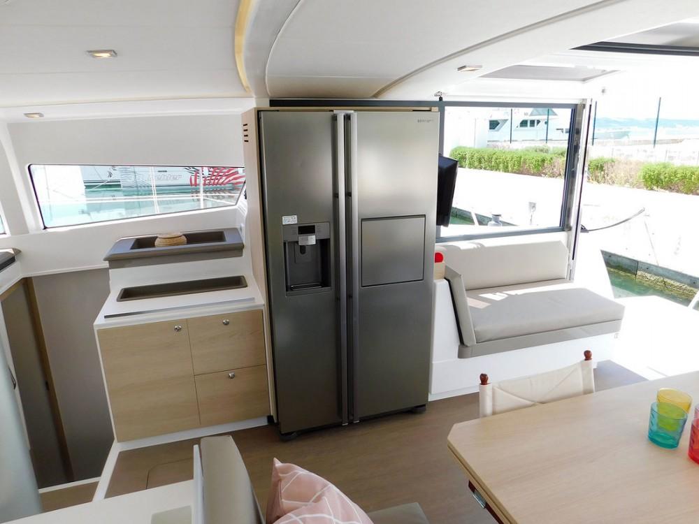 Rental Catamaran in  - Catana Bali 4.3 - 4 + 2 cab.