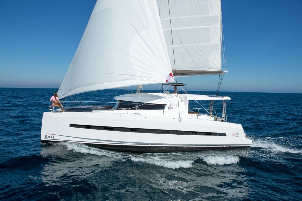 Rental Catamaran in Croatia - Catana Bali 4.5 - 4 + 2 cab.