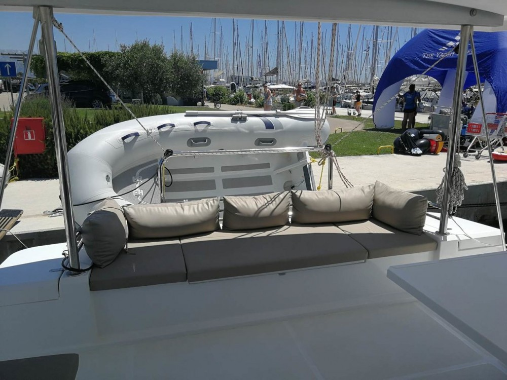 Boat rental Catana Bali 4.5 - 4 + 2 cab. in Croacia on Samboat