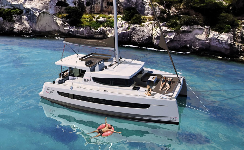 Boat rental Croatia cheap Bali 4.8 - 6 cab.