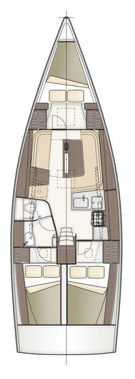 Rental Sailboat in Croatia - Dehler Dehler 38