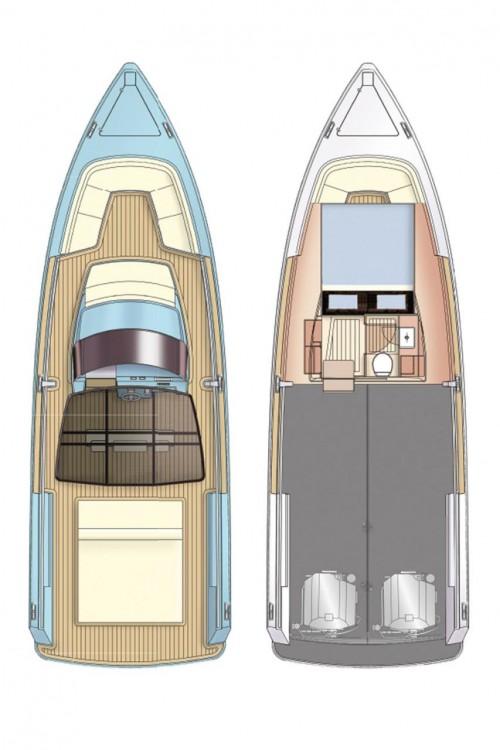 Rental Motorboat in Croatie - Fjord-Boats Fjord 36 Open