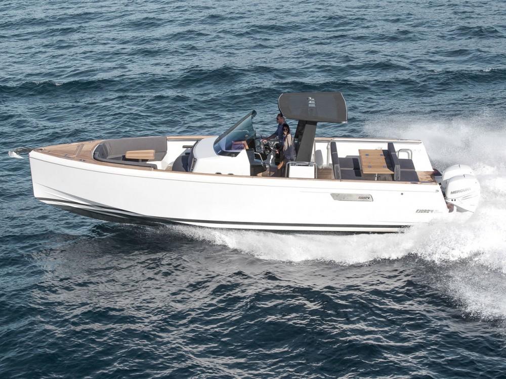 Boat rental Croatia cheap Fjord 38 Express