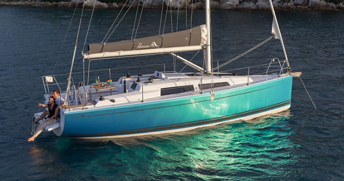 Rental yacht Biograd na Moru - Hanse Hanse 315 on SamBoat
