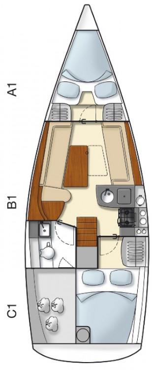 Boat rental Croatia cheap Hanse 325