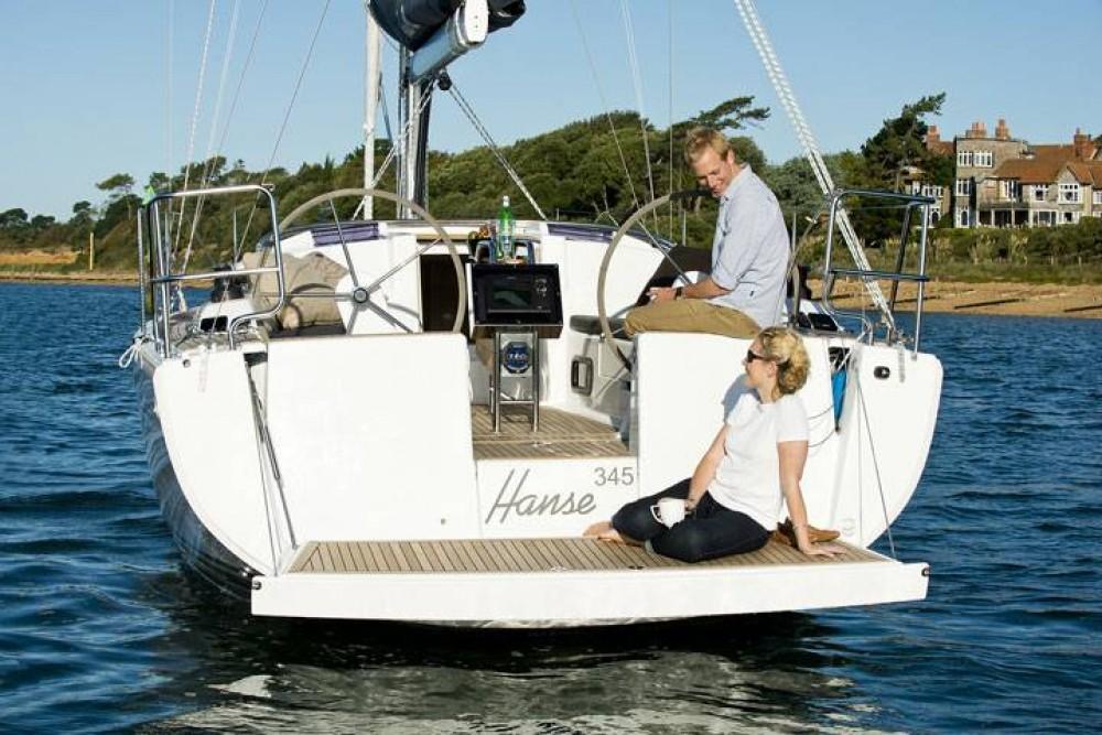 Boat rental Croatia cheap Hanse 345