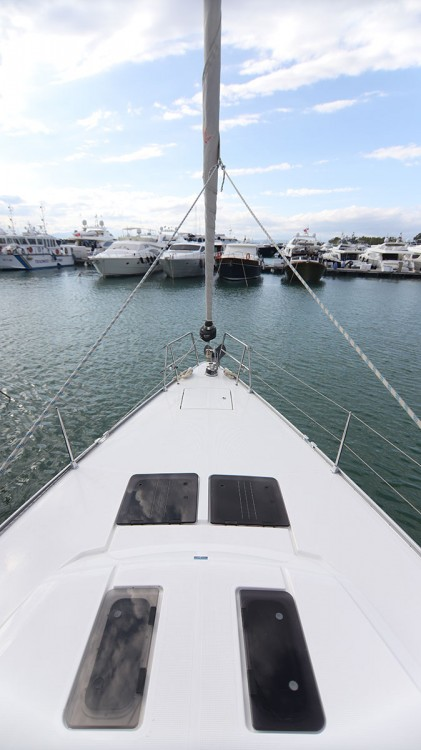 Bavaria Cruiser 51 between personal and professional Peloponnese
