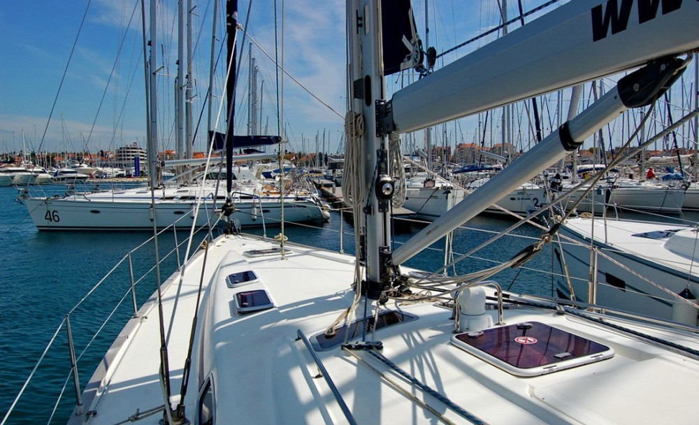 Boat rental Croatia cheap Bavaria 46 Cruiser