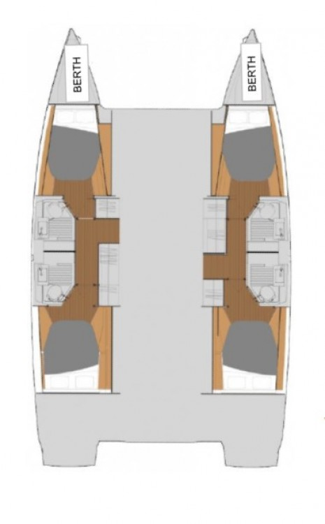 Hire Catamaran with or without skipper Fountaine Pajot Tortola