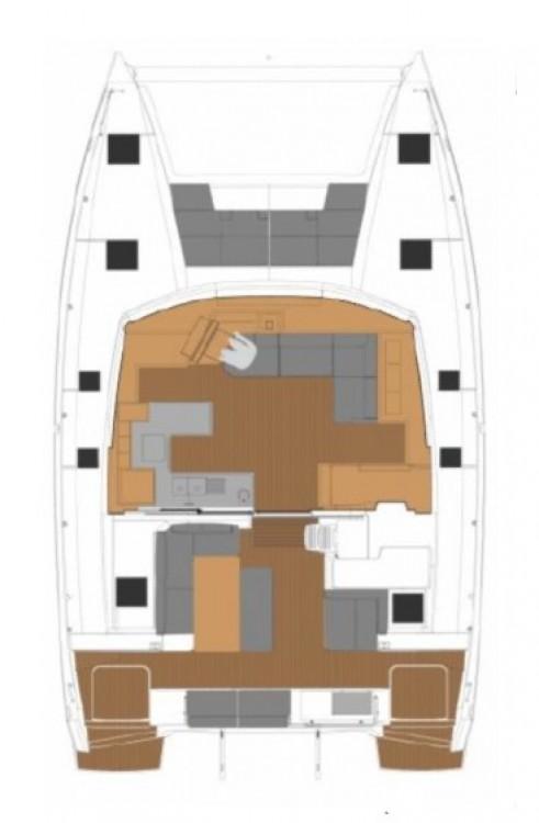 Rental Catamaran in Tortola - Fountaine Pajot Fountaine Pajot Astrea 42 - 4 + 2 cab.