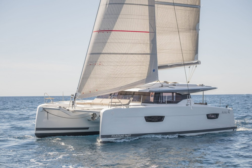 Rental yacht Tortola - Fountaine Pajot Fountaine Pajot Astrea 42 - 4 + 2 cab. on SamBoat