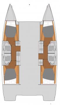Rental yacht Newport - Fountaine Pajot Astrea 42 on SamBoat