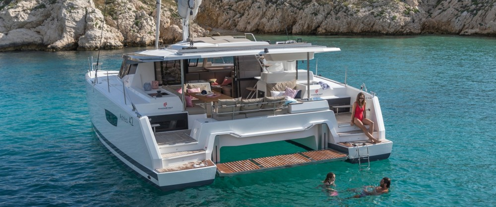 Hire Catamaran with or without skipper Fountaine Pajot New England
